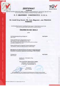 certificat lipsa